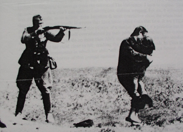 comparing the systematic slaughter of native americans to the nazi german holocaust The holocaust nazi genocide of european jews in world war ii, first recorded 1957, earlier known in heb as shoah catastrophe the word itself was used in eng in ref to hitler's jewish policies from 1942, but not as a proper name for them.
